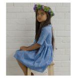 Alexa Dress - Heritage Blue LS