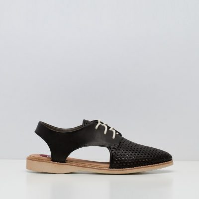 Slingback Punch Black
