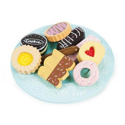 Biscuit and plate set 2