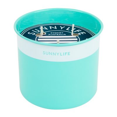 Citronella Candle Large Turquoise2