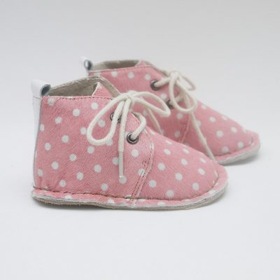 Baby Boots - Pink Spot