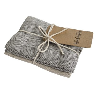 Basic Range Tea Towel Pack Chambray