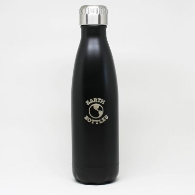 Earth Bottle- Matte Black 750ml