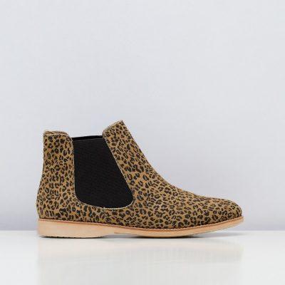 Chelsea Leopard Brown