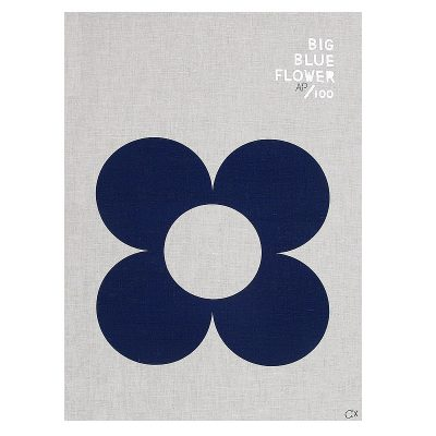 Nest-Seven-BIG-BLUE-FLOWER-teatowel-castle