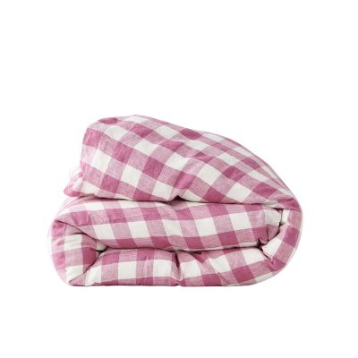 Nest-Seven-Duvet-Cover-Fuchsia-Gingham-Society-of-Wanderers