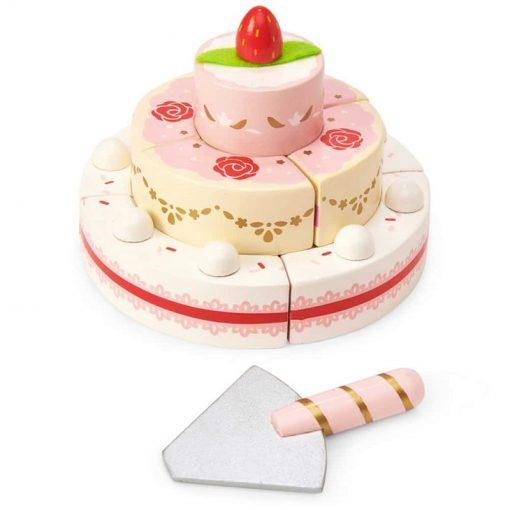 Strawberry-Wedding-Cake