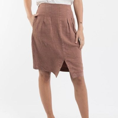 Nest-Seven-Albie-Skirt-Nutmeg-Foxwood
